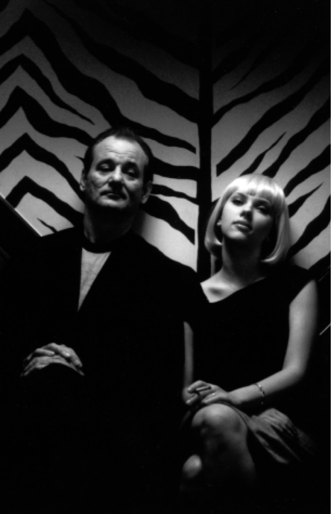 Bill Murray and Scarlett Johansson—two lonely Americans in Lost in Translation