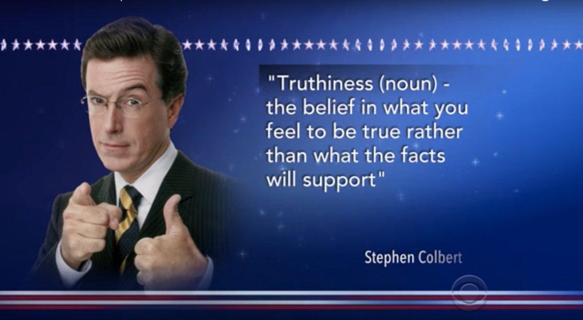 colbert-truthiness | Film Quarterly